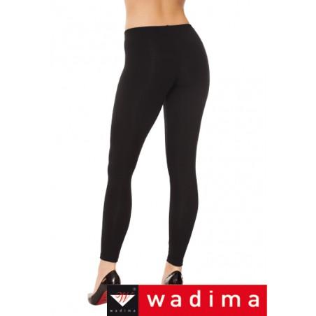 zateplené bavlněné legíny WADIMA černé