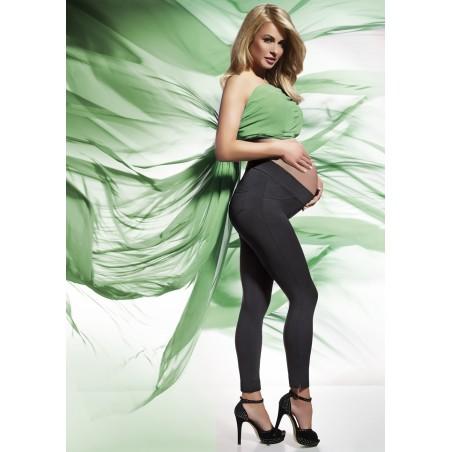 Zateplené těhotenské legíny LAURA - BAS BLEU