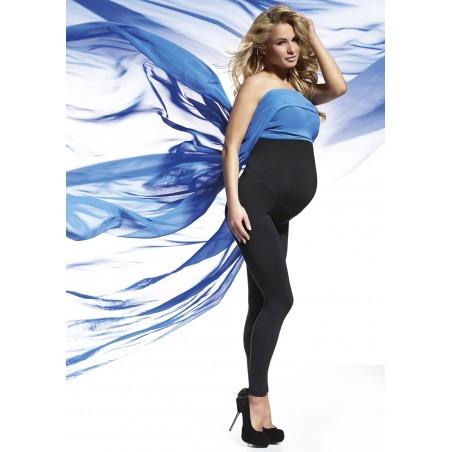 Těhotenské zateplené legíny ANABEL - BAS BLEU