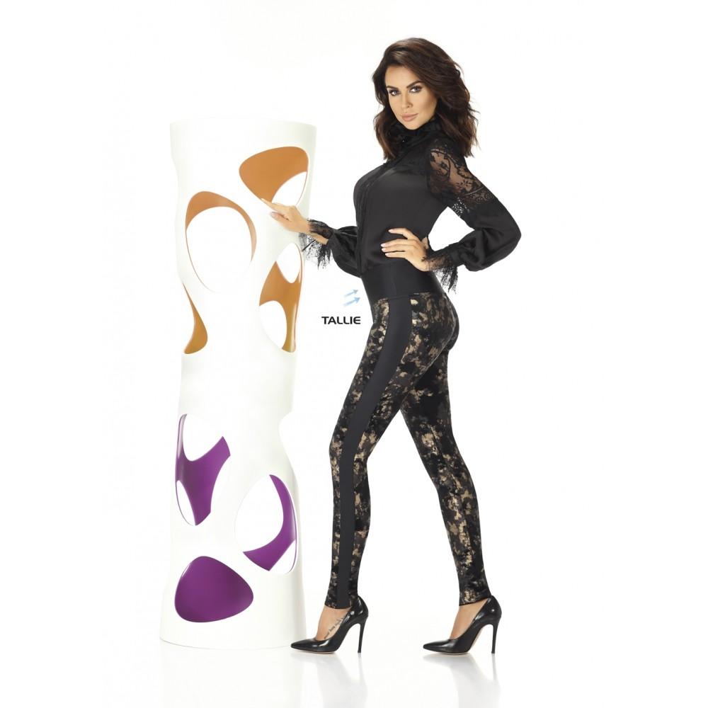 Luxusní dámské legíny Valentina BAS BLEU