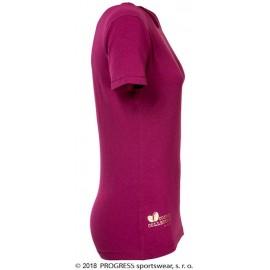 CC TKRZ dámské funkční triko s krátkým rukávem fialová - doprodej