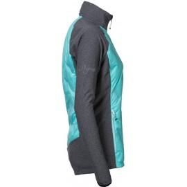 CIVETTA dámská hybridní bunda šedý melír/mintová