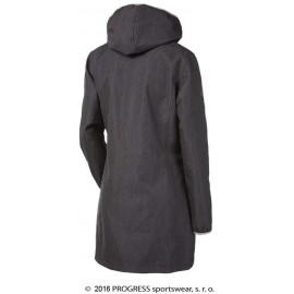 RIGA dámský softshellový kabát šedý vzor - doprodej