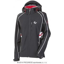 ANDINA dámská softshellová sportovní bunda černá - doprodej