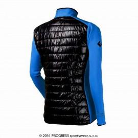 TUX pánská sportovní hybridní bunda modrá/černá - doprodej
