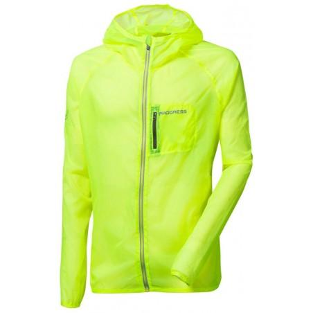 AERO LITE ultra lehká bunda - větrovka neon žlutá