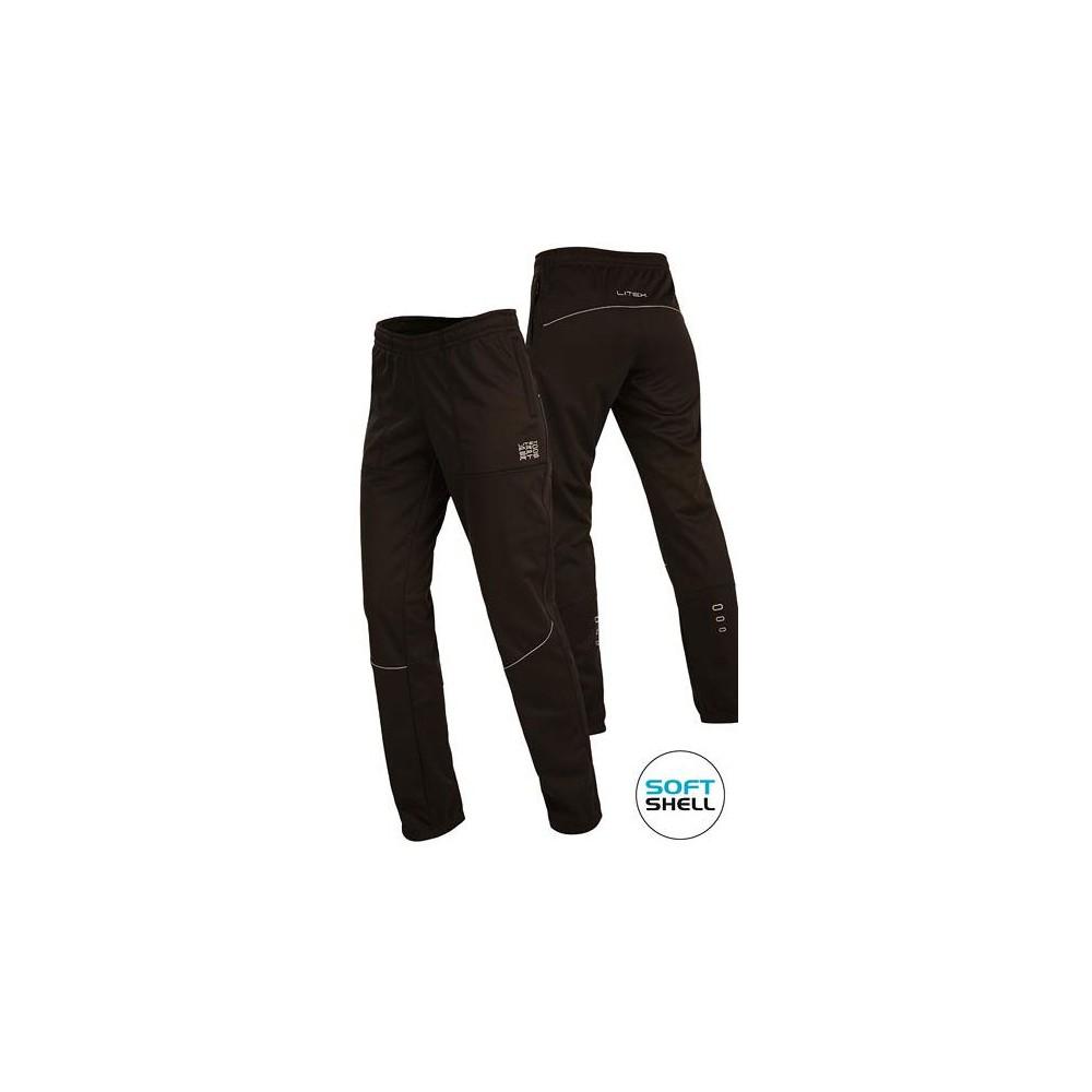 LITEX Kalhoty softshellové