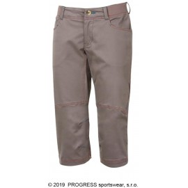 PAPRICA 3Q dámské outdoorové 3/4 kalhoty šedohnědá - doprodej